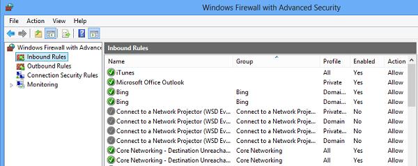 Block or Open a Port in Windows Firewall
