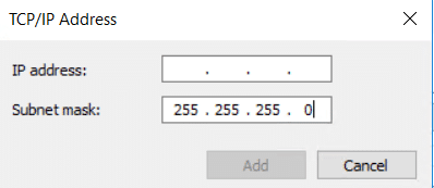 TCP-IP Addresses